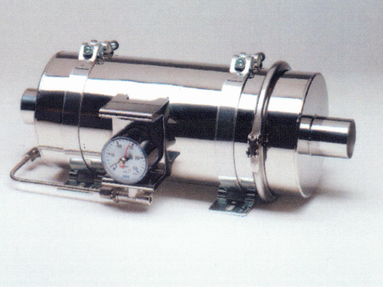 Plug-on Diesel Particle Filter for manual cleaning